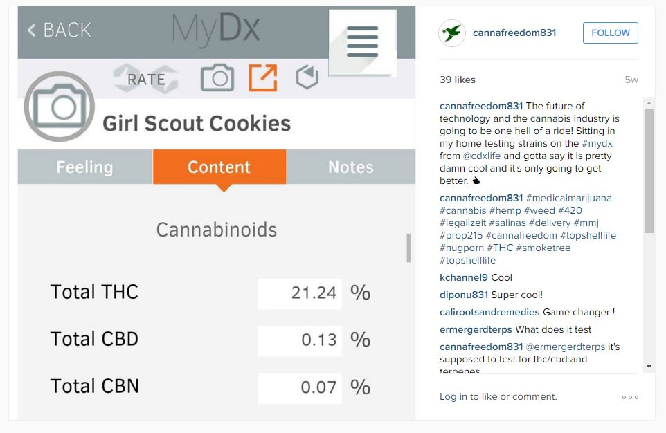 Accurate - Accuracy - MyDx - Review - Reviews - Girl Scout Cookies