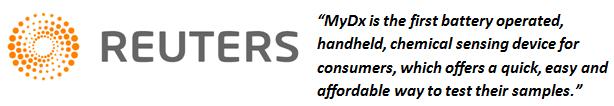 Reuters - MyDx - Review - Reviews