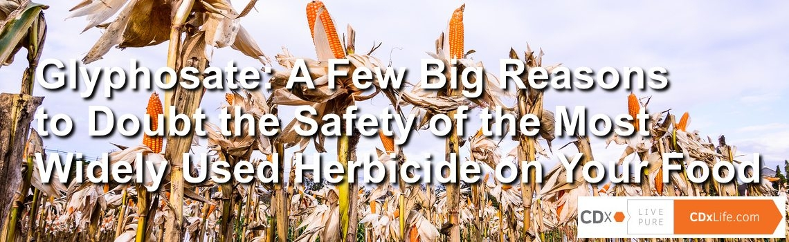Glyphosate: A Few Big Reasons to Doubt the Safety