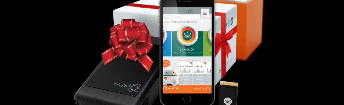 MyDx: the perfect gift for cannabis enthusiasts